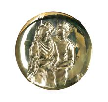 Limited Edition 1973 Picasso The Lovers Plate by the Hamilton Mint