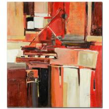 Piano in Red by Tremler, Yuri