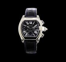 Cartier Stainless Steel Roadster Men's Watch
