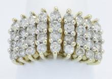 1.95 ctw Diamond Ring - 14KT Yellow Gold