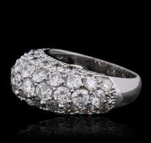 14KT White Gold 5.34 ctw Diamond Ring