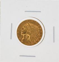 1909 $5 VF Indian Head Half Eagle Gold Coin