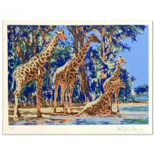 Giraffe Lake by Henrie (1932-1999)