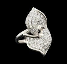 1.33 ctw Diamond Ring - Platinum