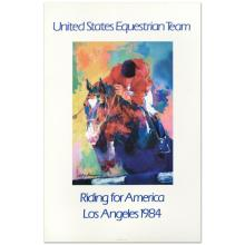 United States Equestrian Team by Neiman (1921-2012)