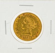 1892 $10 XF Liberty Head Eagle Gold Coin