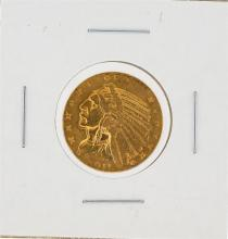 1911 $5 XF Indian Head Half Eagle Gold Coin