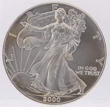 2000 American Silver Eagle Dollar Coin