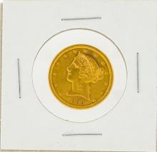 1899-S $5 Liberty Head Half Eagle Gold Coin