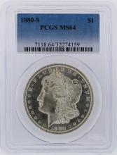 1880-S PCGS MS64 Morgan Silver Dollar