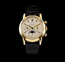 Patek Philippe 18KT Gold Perpetual Calendar Chronograph Men's Watch