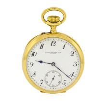 Patek Philippe & Co. Pocket Watch - 18KT Yellow Gold