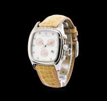David Yurman Stainless Steel Thoroughbred Chronograph Watch