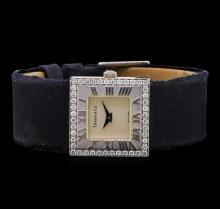 Tiffany & Co. 18KT White Gold Diamond Ladies Watch