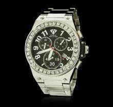 Aqua Master Stainless Steel Diamond Watch