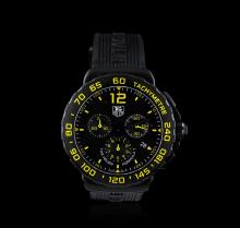 TAG Heuer Stainless Steel and Black Titanium Formula 1 Chronograph Men's Watch