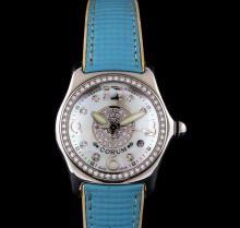 Corum Stainless Steel Diamond Bubble Watch