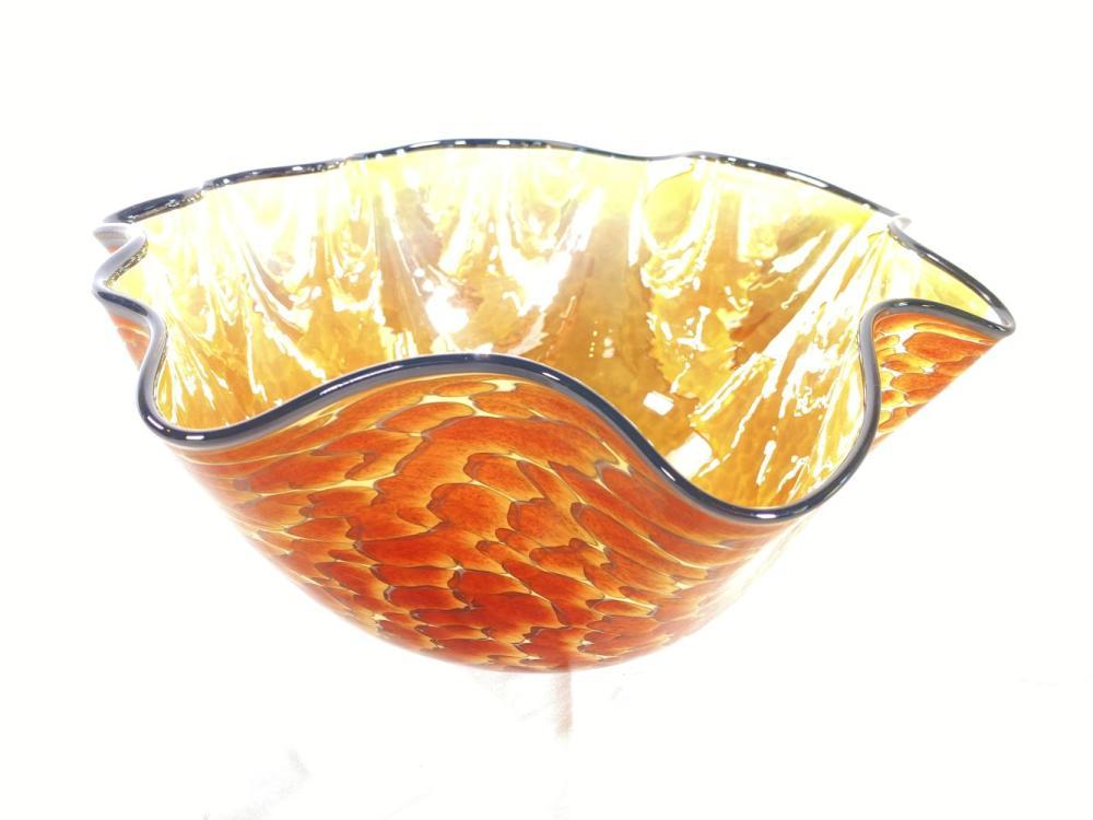 Cohnstone Artist Signed Studio Glass