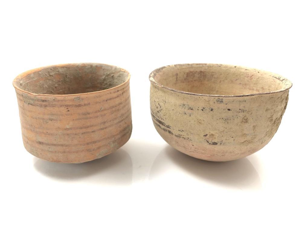 2 Indus Valley Ceramic Pots