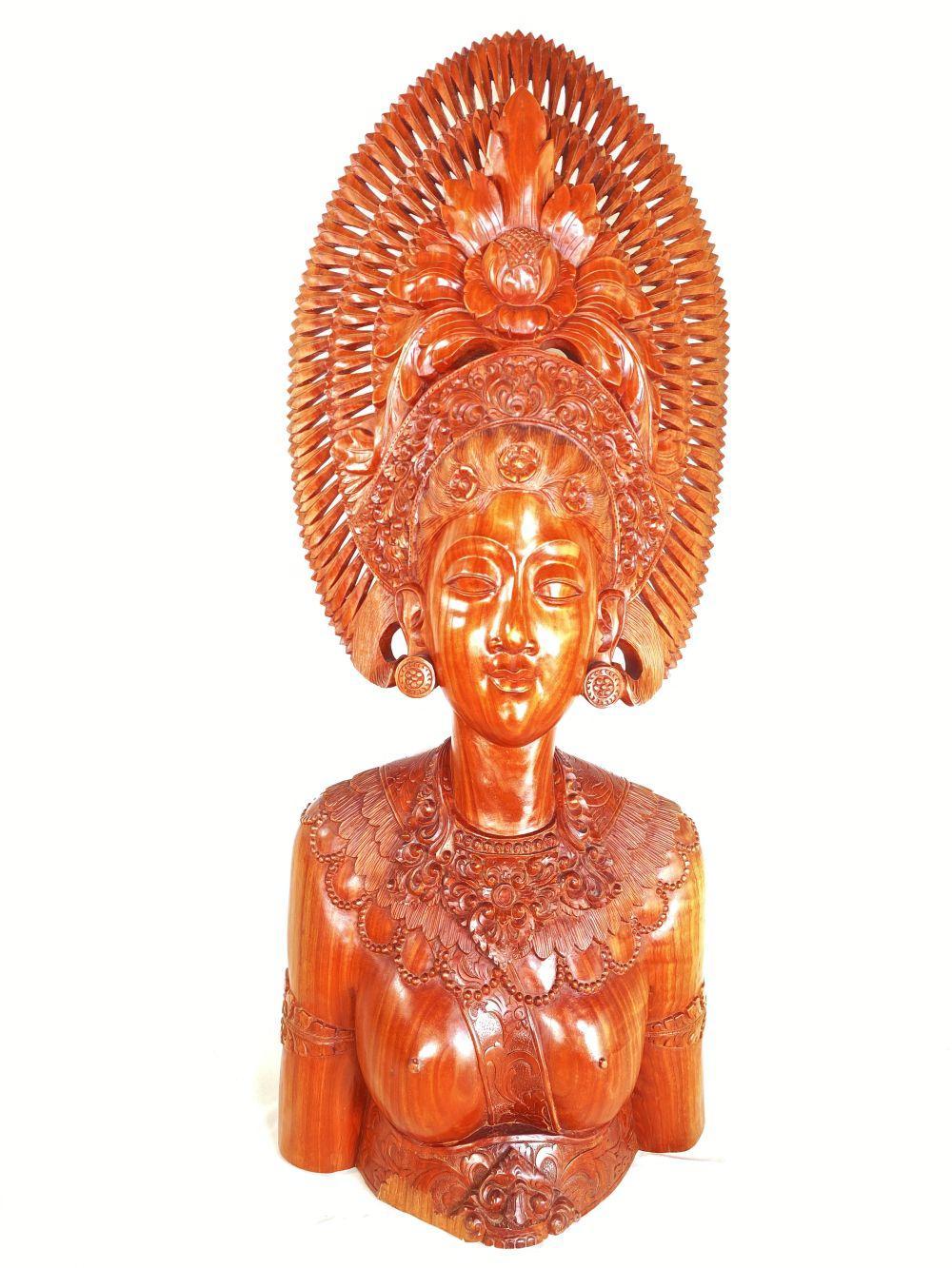 Vintage African Hand Carved Wood Sculpture