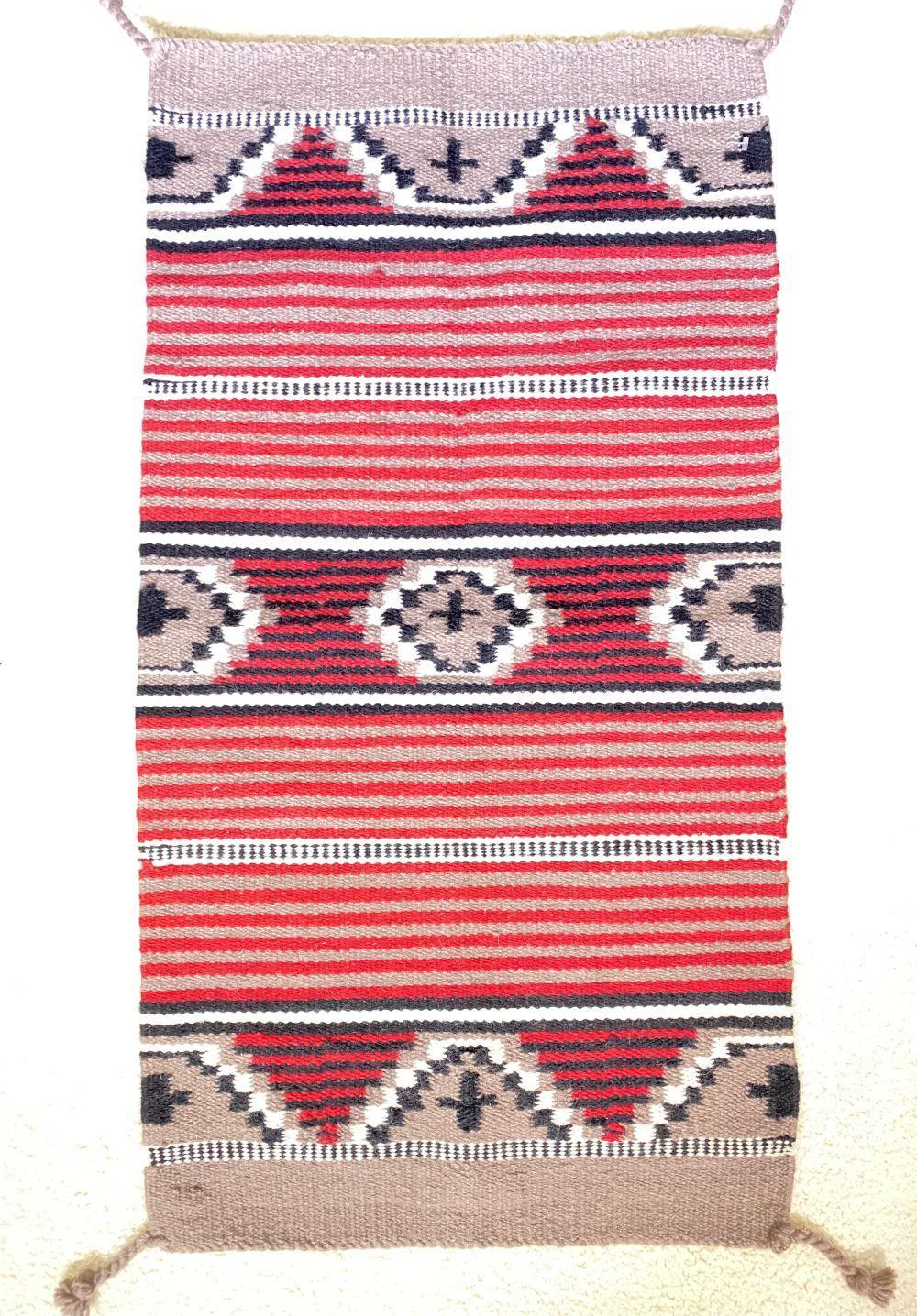 Native American Tribal Saddle Blanket Rug