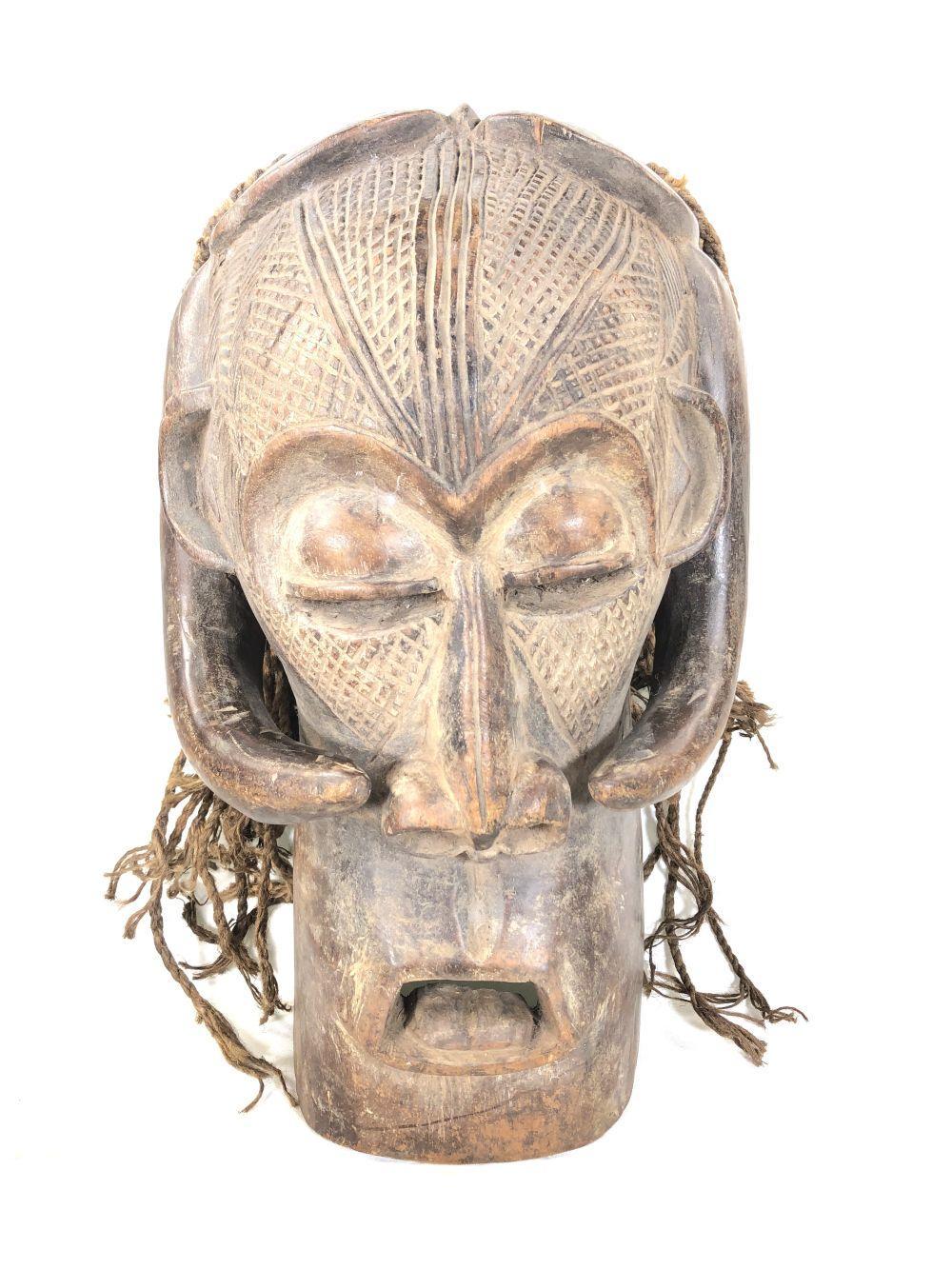 African Songye Congo Mask