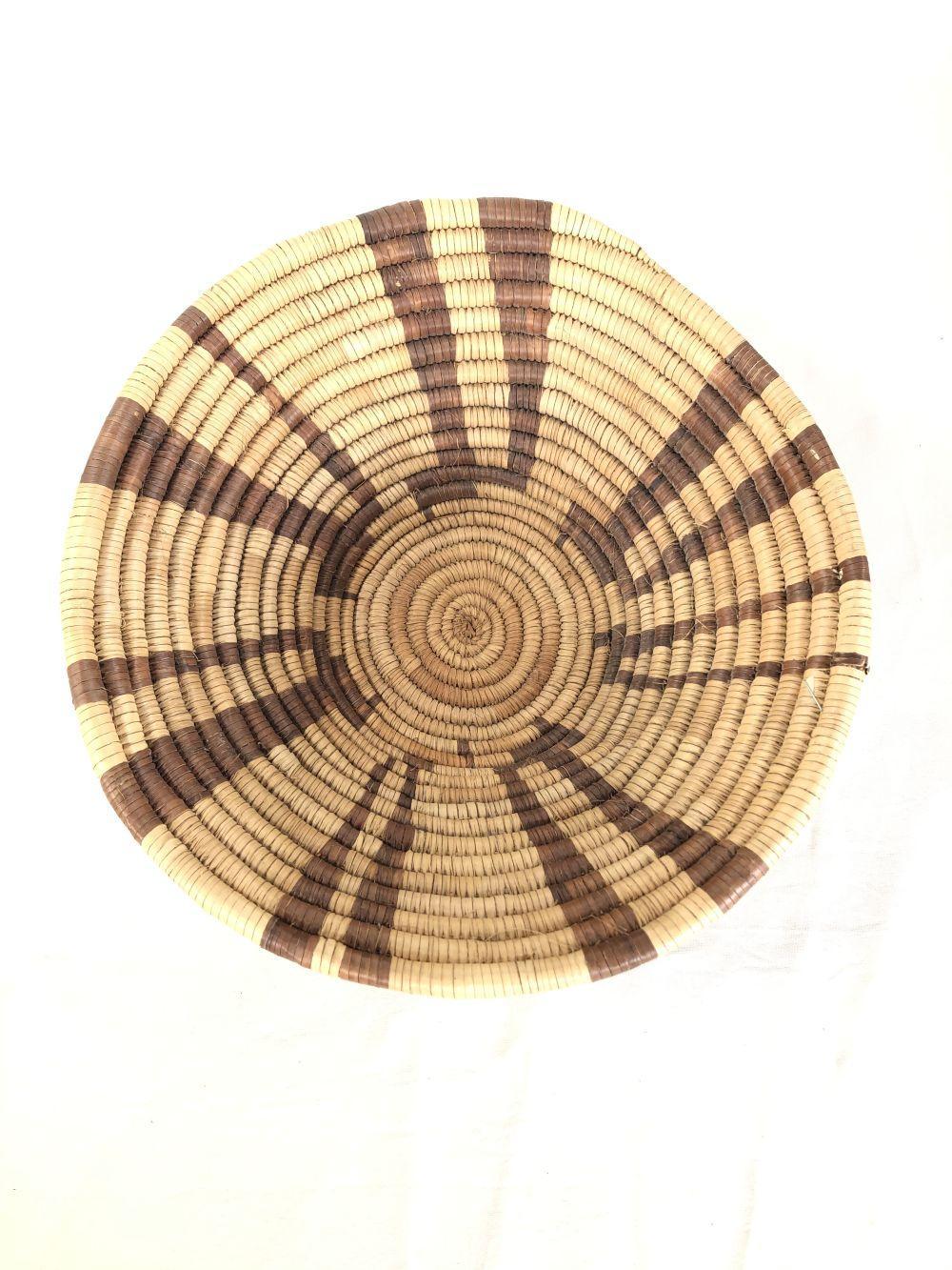 Vintage African Coil Basket