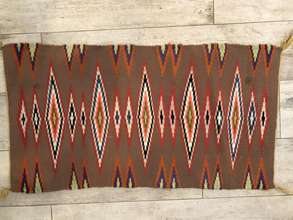 Vintage Tribal Hand Woven Rug