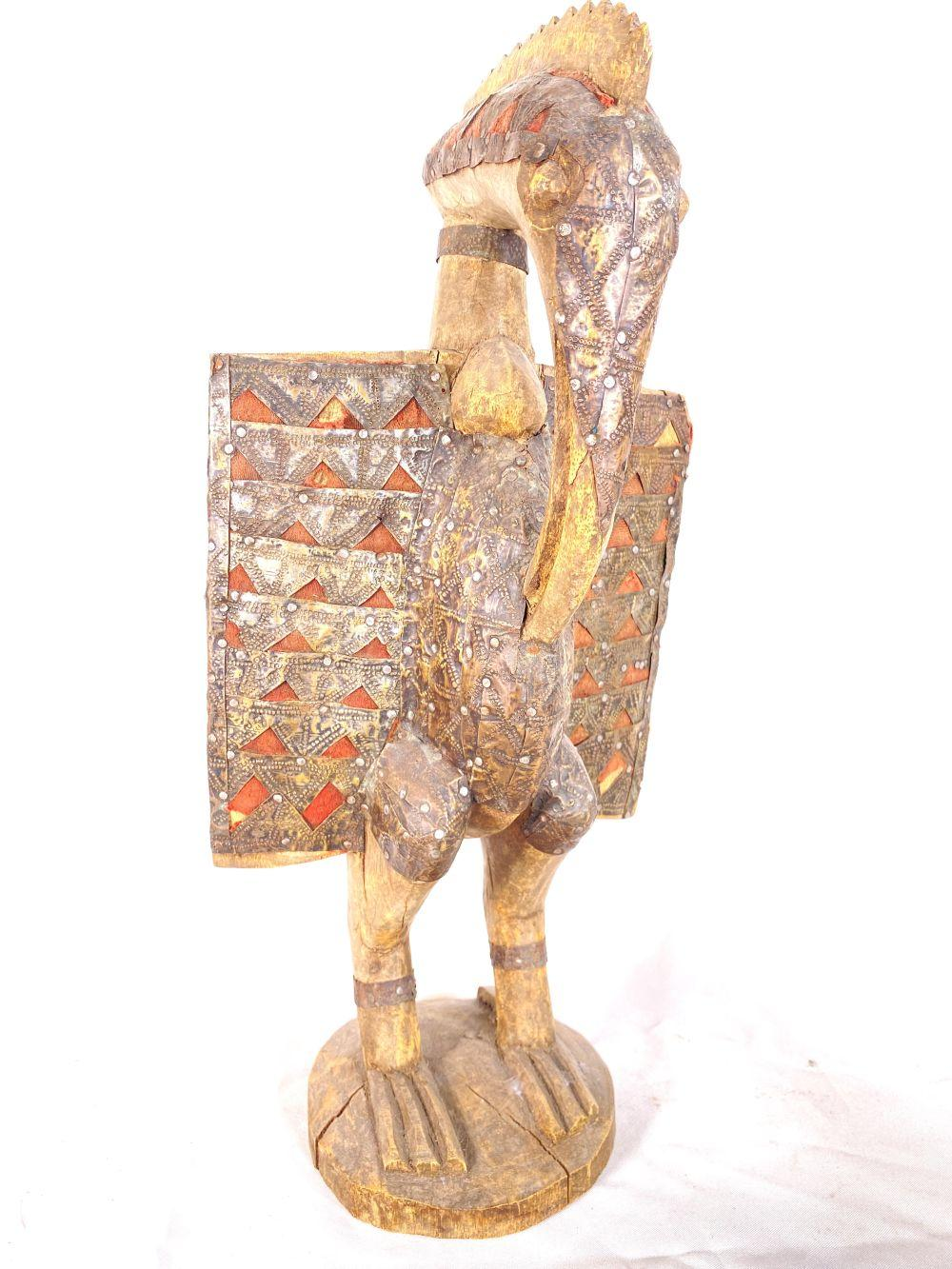 19th C. Ivory Coast Senufo Bird Wood Carving