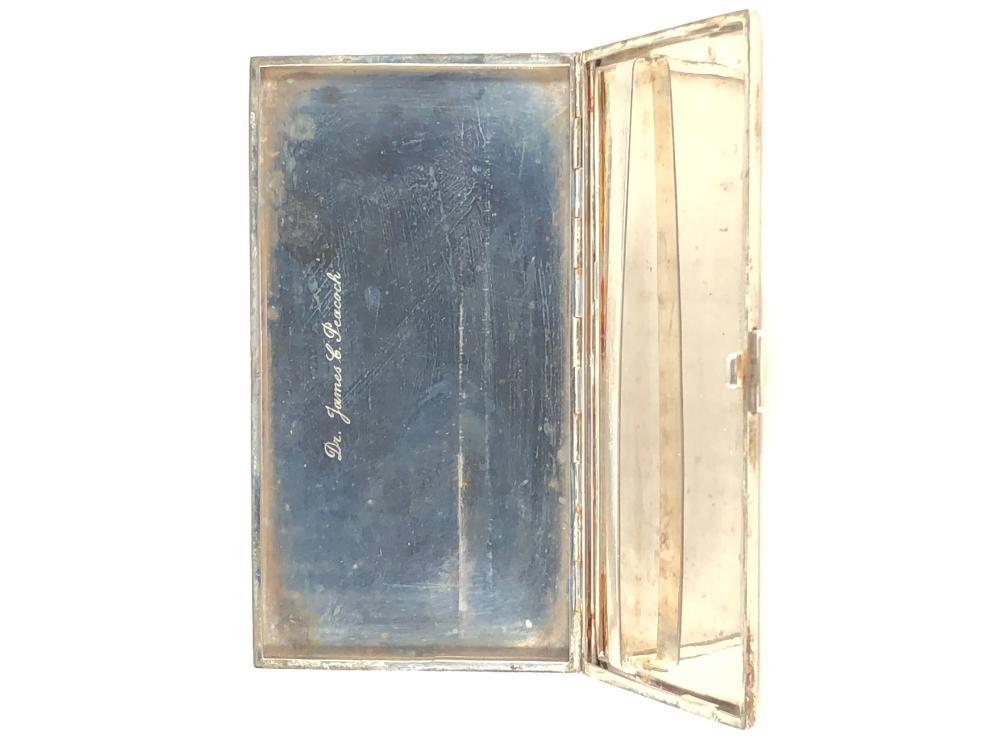 Antique German 800 Silver Cigarette Case