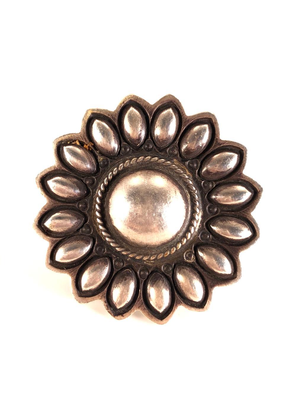 Native American Navajo Sterling Silver Ring