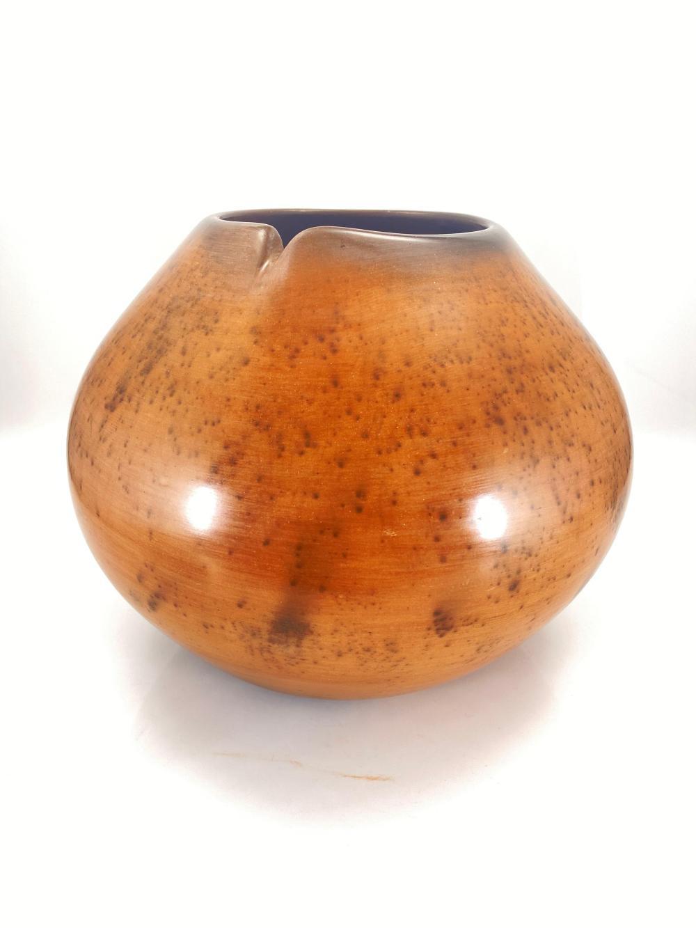 RARE Jody Folwell Santa Clara Pueblo Native American Pot