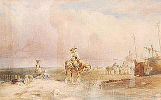 ATTRIBUTED TO SAMUEL AUSTIN (1796-1834) -