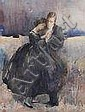 MADELINE GREEN (1884-1949) Watercolour and, Madeline Green, Click for value