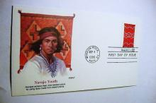 1985 NAVAJO YOUTH FIRST DAY COVER