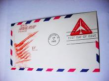1968 AIRMAIL FIRST DAY COVER