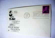 1955 SUSAN B. ANTHONY FIRST DAY COVER