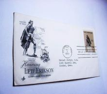 1968 LEIF ERIKSON FIRST DAY COVER
