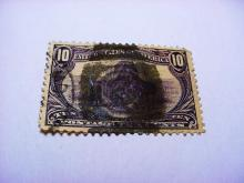 1898 TRANS MISSISSIPPI 10 CENT STAMP