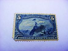 1898 TRANS MISSISSIPPI 5 CENT STAMP