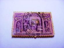 1892 COLUMBIAN EXPO 6 CENT STAMP