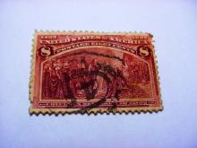 1892 COLUMBIAN EXPO 8 CENT STAMP