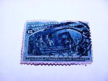 1892 COLUMBIAN EXPO 15 CENT STAMP