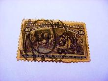 1892 COLUMBIAN EXPO 10 CENT STAMP