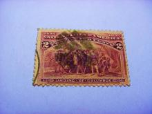 1892 COLUMBIAN EXPO 2 CENT STAMP