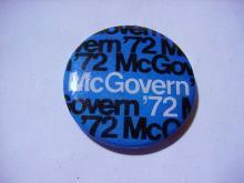 McGOVERN CAMPAIGN BUTTON