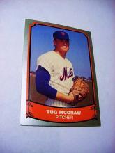 1971 PACIFIC TRADING # 96 TUG MCGRAW BASEBALL CARD