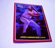 DONRUSS'84  # 26 JOHN LOWENSTEIN  OUTFIELD BASEBALL CARD
