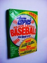 1987 UNOPENED TOPPS BASEBALL CARDS