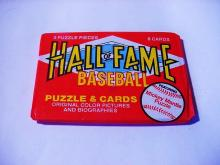 HALL OF FAME  UNOPENED BASEBALL CARD WAX PACK